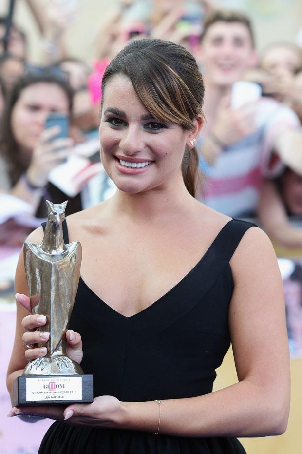 Lea Michele in Preen