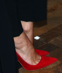 Diane Kruger's red pumps