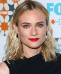 Get The Look:  Diane Kruger's FOX All-Star Party Tousled Tresses