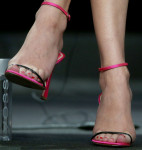 Diane Krugers' Dior sandals