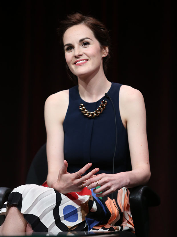 Michelle Dockery in Victoria Beckham