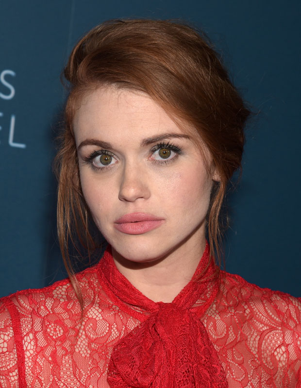Holland Roden in Jay Godfrey