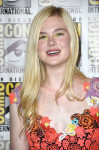 Elle Fanning in Christopher Kane