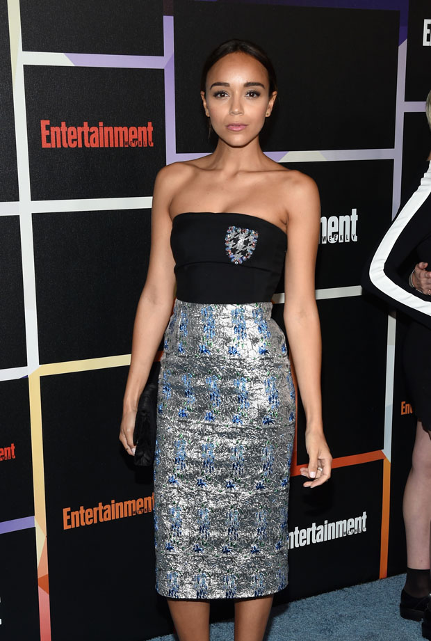 Ashley Madekwe in Dior
