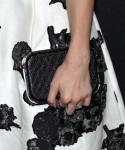 Emma Roberts Tod's clutch