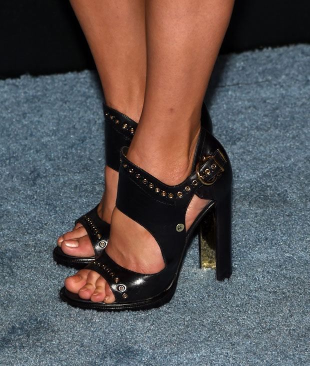 Nina Dobrev's Ferragamo shoes