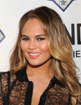 DuJour Magazine And NYY Steak Celebrate Chrissy Teigen With FENDI Timepieces And Moet Ice