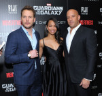 "The Cinema Society With Men's Fitness & FIJI Water Host A Screening Of ""Guardians of the Galaxy"""