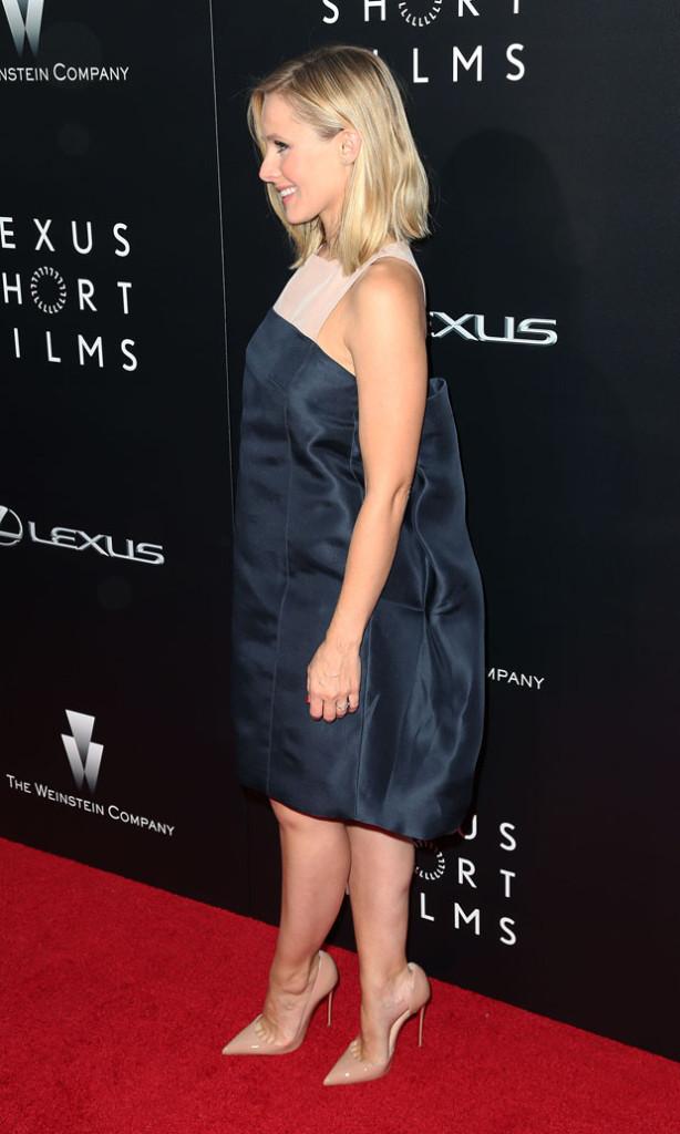 Kristen Bell in Monique Lhuillier