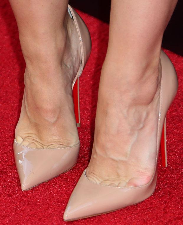 Kristen Bell's Christian Louboutin pumps