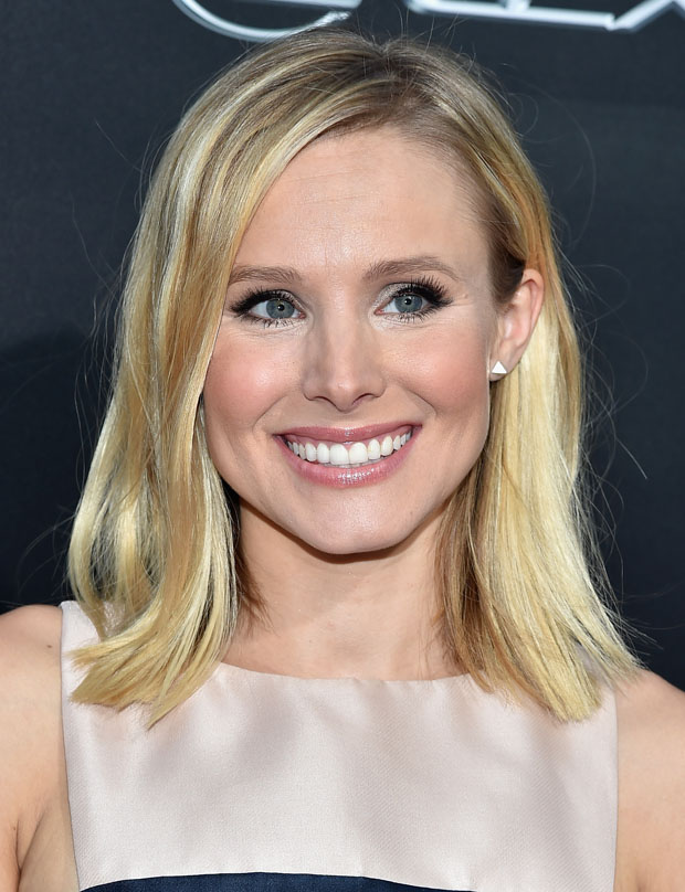Kristen Bell in Monique Lhuillier