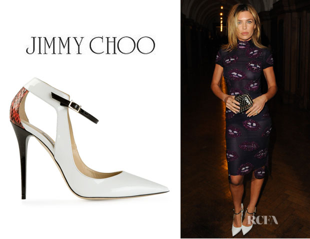 Abbey Clancy's Jimmy Choo 'Maiden' Pumps
