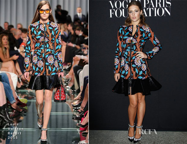 Adele Exarchopoulos In Louis Vuitton - Vogue Foundation Gala