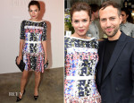 Anna Friel In Peter Pilotto - Peter Pilotto Dinner Hosted by M.A.C.