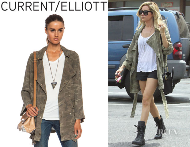 Ashley Tisdale's CurrentElliott 'Infantry Rayon' Jacket