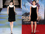 Aubrey Plaza In Emporio Armani - 'Guardians Of The Galaxy' LA Premiere