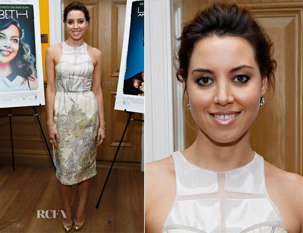Aubrey Plaza In Honor - 'Life After Beth' New York Screening