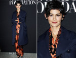 Audrey Tautou In Prada - Vogue Foundation Gala
