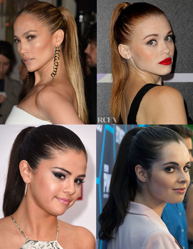 Beauty Trend Spotting Sleek Ponytails2