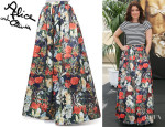 Bellamy Young's Alice + Olivia 'Tina' Floral Ball Gown Skirt