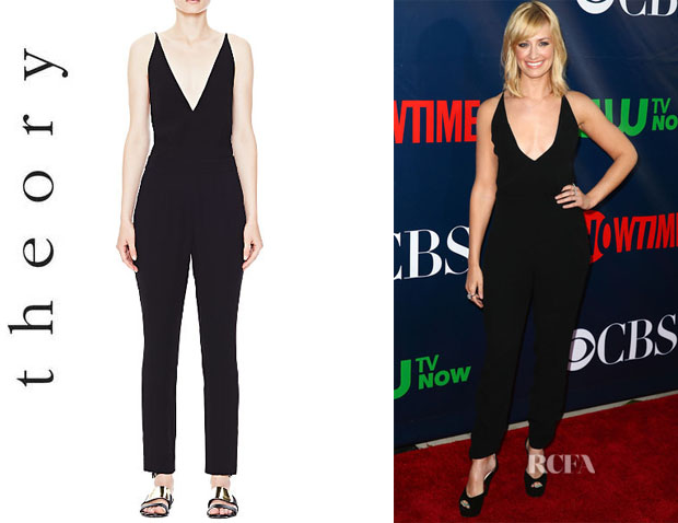Beth Behrs' Theory 'Roxie' Jumpsuit