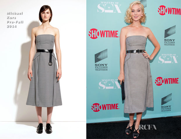 Caitlin FitzGerald In Michael Kors - 'Masters Of Sex' Season 2 Summer TCA Press Tour Event