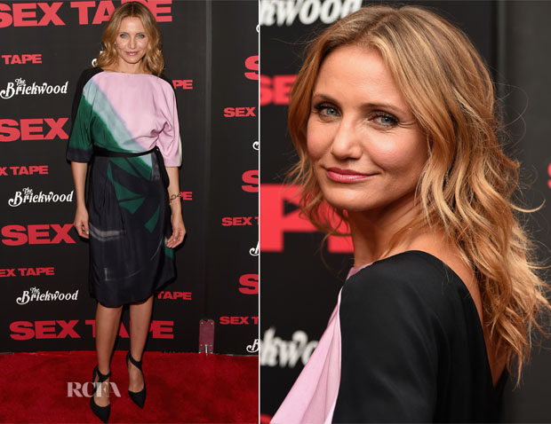 Cameron Diaz In Vionnet - 'Sex Tape' LA Screening