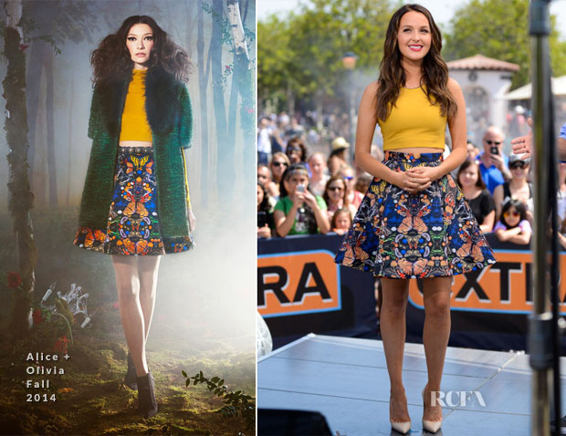 Camilla Luddington In Alice + Olivia - Extra