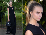 Cara Delevingne In Mulberry - The Serpentine Gallery Summer Party