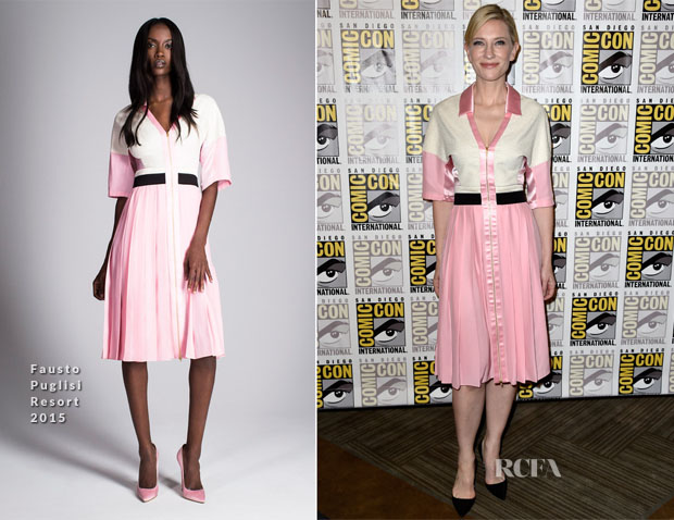 Cate Blanchett In Fausto Puglisi -  'The Hobbit The Battle Of The Five Armies' Comic-Con 2014 Press Line