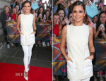Cheryl Cole In Alexander McQueen & J Brand - X Factor Edinburgh Auditions