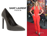 Cheryl Cole's Saint Laurent 'Classic Paris' Studded Pumps