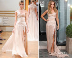 Cheyl Cole In Zuhair Murad Couture - Storm Flower Fragrance Launch