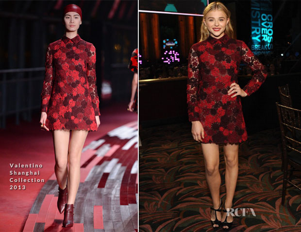 Chloe Moretz In Valentino - 2014 Young Hollywood Awards
