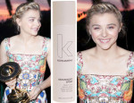 Get The Look: Chloe Moretz' Saturn Awards Braided Updo