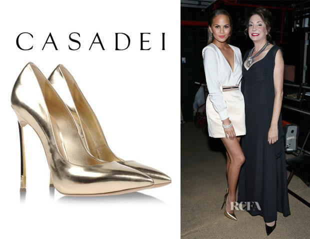 Chrissy Teigen's Casadei High Heel Pumps