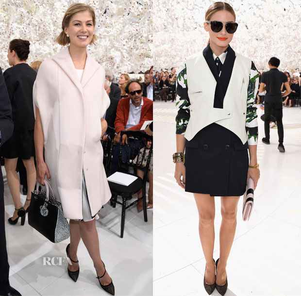 Christian Dior Falll 2014 Couture Front Row3