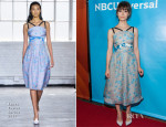 Cristin Milioti In Tanya Taylor - NBCUniversal 2014 Summer TCA Tour