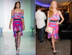 Clara Paget In Peter Pilotto - 'Gentleman's Wager' London Screening