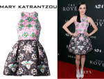Claudia Levy's Mary Katrantzou 'Ohara' Dress