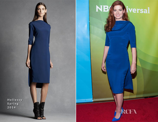 Debra Messing In Hellessy - NBCUniversal 2014 Summer TCA Tour