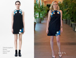 Diane Kruger In Christopher Kane - 'The Bridge' LA Press Conference