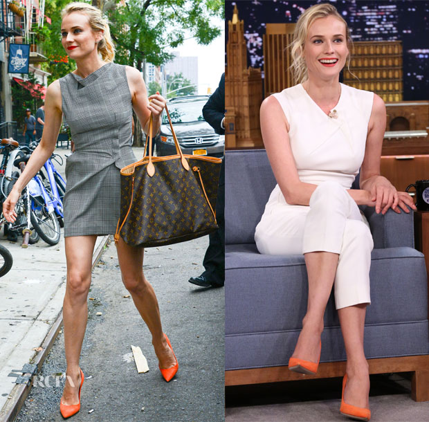 Diane Kruger 'The Bridge' New York Promo Tour 2