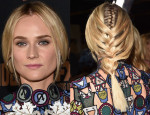 Get The Look: Diane Kruger's 'The Bridge' Premiere Double Braid