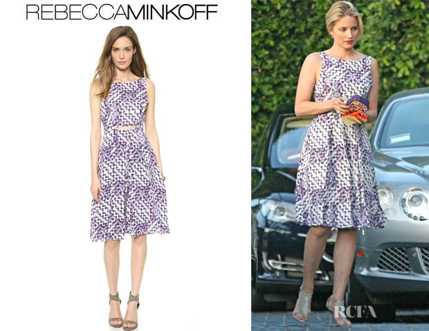 Dianna Agron's Rebecca Minkoff 'Francis' Dress