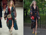 Donna Air In Burberry Prorsum - The Serpentine Gallery Summer Party