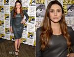 Elizabeth Olsen In The Row -  'Avengers: Age Of Ultron' Comic-Con 2014 Press Line