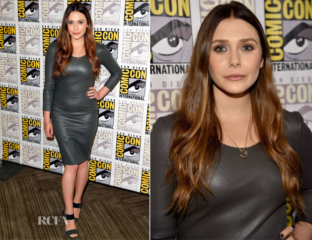 Elizabeth Olsen In The Row -  'Avengers Age Of Ultron' Comic-Con 2014 Press Line