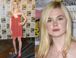 Elle Fanning In Christopher Kane - Comic-Con 2014: 'The Boxtrolls' Panel