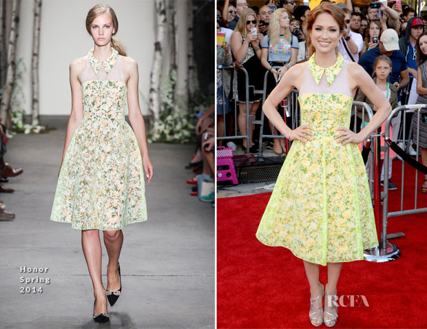 Ellie Kemper In Honor - 'Sex Tape' LA Premiere